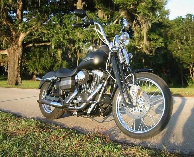 Springer front end on a dyna super glide ???? - Harley